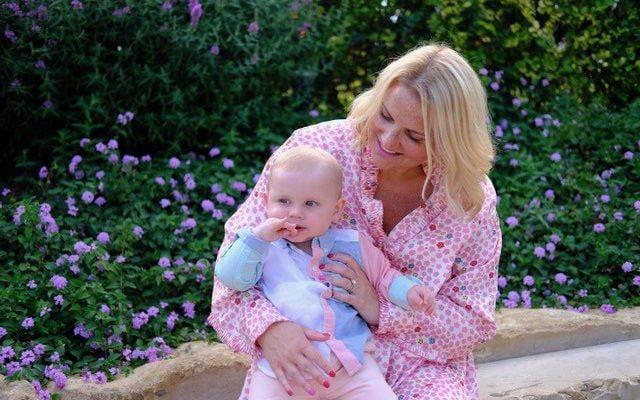Charlotte Balbier, pictured with Harry, was reliant on a network of fellow mums