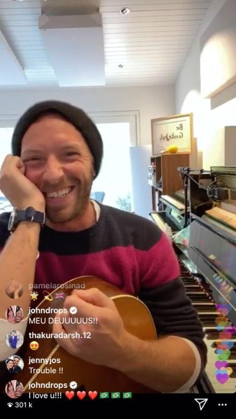 "<p>On Monday, Chris Martin performed an impromptu free concert via Instagram Stories for fans who have are in self-isolation.</p><p>Following his lead, John Legend then announced on Twitter he too would be playing a gig from the confides of his home - <a href=""https://www.elle.com/uk/life-and-culture/g29620709/chrissy-teigen-john-legend-wife-relationship/"" rel=""nofollow noopener"" target=""_blank"" data-ylk=""slk:where Chrissy Teigen is also likely to make an appearance."" class=""link rapid-noclick-resp"">where Chrissy Teigen is also likely to make an appearance. </a></p><p><a href=""https://www.instagram.com/p/B90Ft_knpuT/"" rel=""nofollow noopener"" target=""_blank"" data-ylk=""slk:See the original post on Instagram"" class=""link rapid-noclick-resp"">See the original post on Instagram</a></p>"