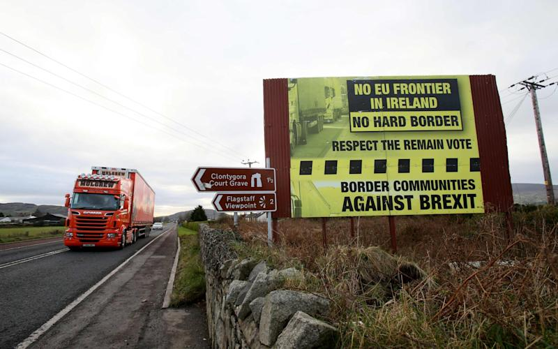 The Irish Republic is the biggest buyer of goods from Northern Ireland - AFP