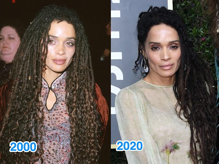 lisa bonet then and now