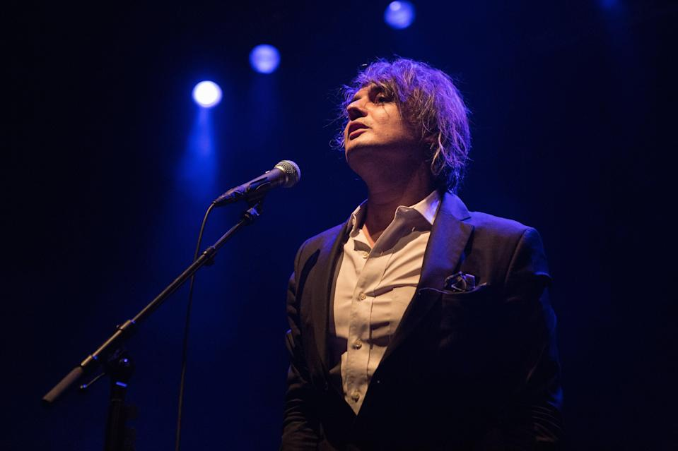 Pete Doherty performs a live concert at Sentrum Scene in Oslo. (Photo by: Gonzales Photo/Per-Otto Oppi/PYMCA/Avalon/UIG via Getty Images).