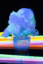 """<p>You can either dip the cotton candy into the drink before knocking it back—the candy will dissolve as soon as the liquid hits it—or let the vodka-tonic seep through the cotton candy as you slam it. </p><p>Get the recipe from <a href=""""https://www.delish.com/cooking/recipe-ideas/recipes/a44306/cotton-candy-shots-recipe/"""" rel=""""nofollow noopener"""" target=""""_blank"""" data-ylk=""""slk:Delish"""" class=""""link rapid-noclick-resp"""">Delish</a>.</p>"""
