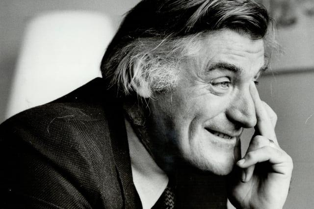 Ted Hughes: The British author will read at harbourfront's festival tonight