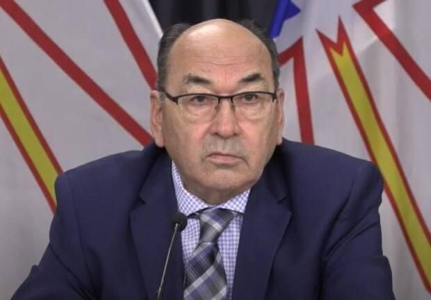 Commissioner James Igloliorte says he needs more time to finish the final report for the search and rescue inquiry.  (Government of Newfoundland and Labrador/Youtube - image credit)