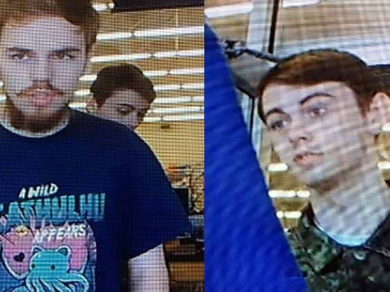 Kam McLeod, 19 and Bryer Schmegelsky, 18, wanted by Canadian police (RCMP via Reuters)