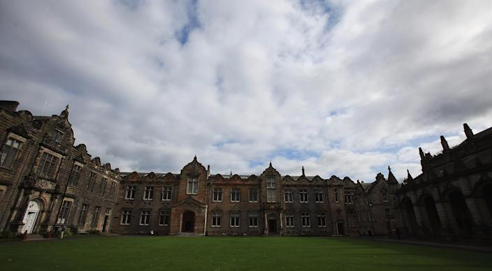 A general view of St Andrews University. (Matthew Lewis / Getty Images file)
