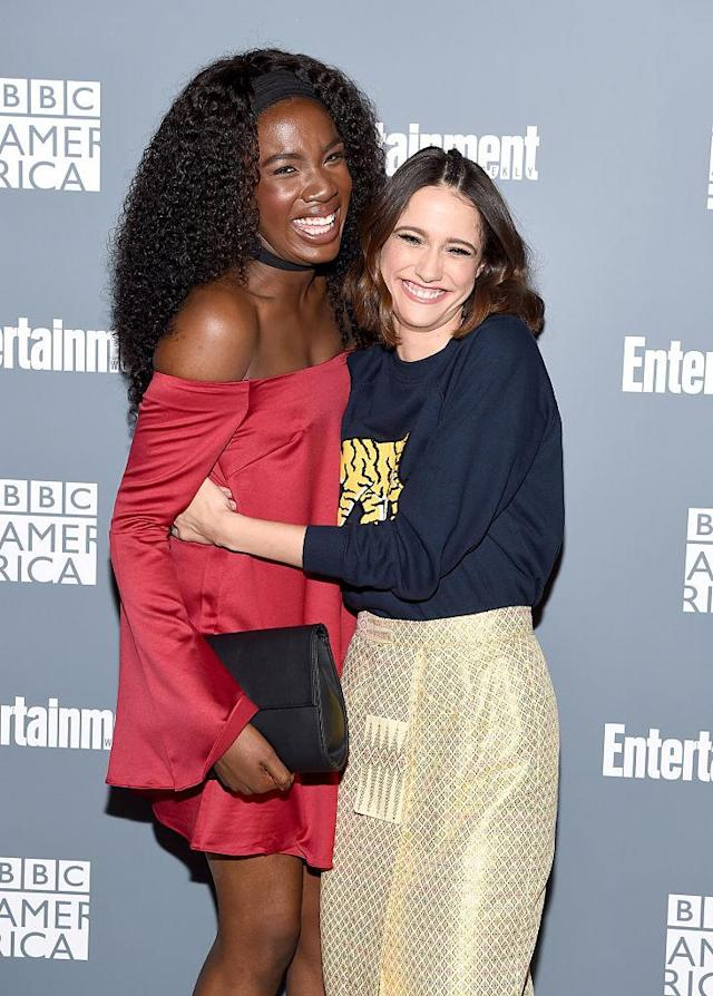 Sophie Hopkins and Vivian Oparah (Photo: Getty Images)