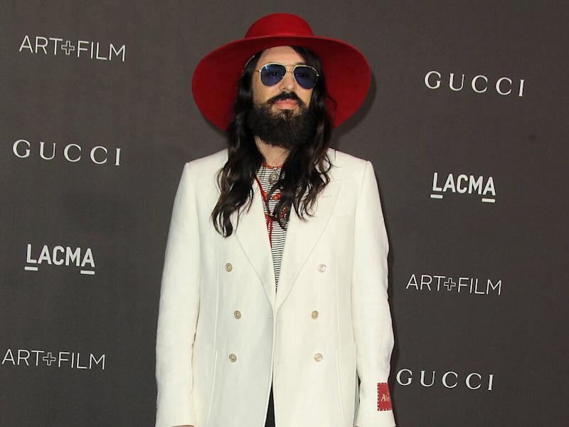 Alessandro Michele wants men to be in touch with their feminine side