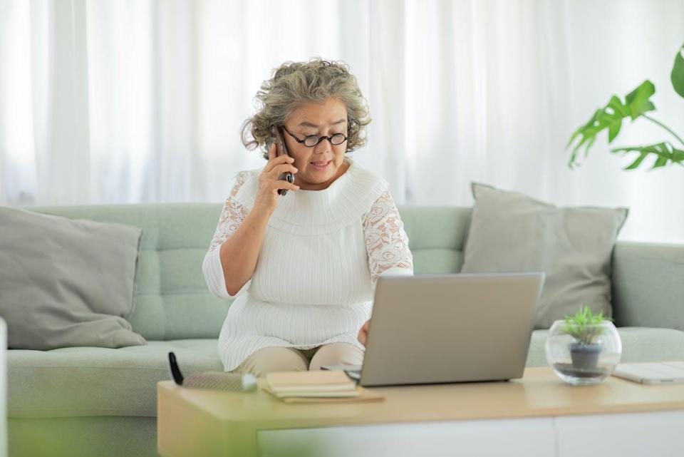 """<span class=""""caption"""">Technology can improve quality of life for older adults.</span> <span class=""""attribution""""><span class=""""source"""">(Shutterstock)</span></span>"""