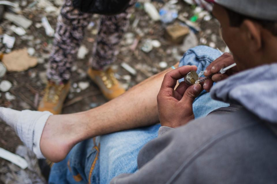 The costs of the opioid crisis continue to rise. (Photo: DOMINICK REUTER/AFP/Getty Images)