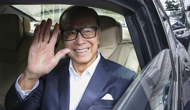 """""""Justice might have to be tempered with mercy on political issues,"""" said Li Ka-shing. Photo: Edward Wong"""
