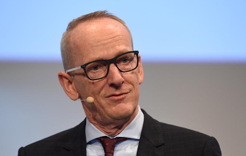 Three years into the tenure of chief executive Karl-Thomas Neumann (pictured), Opel hoped to finally return to profit in 2016 (AFP Photo/CHRISTOF STACHE)
