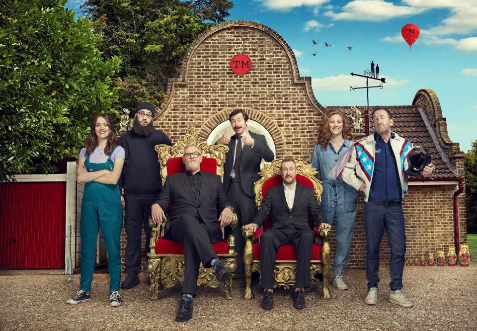 Taskmaster Series 11 Group Shot (Channel 4)