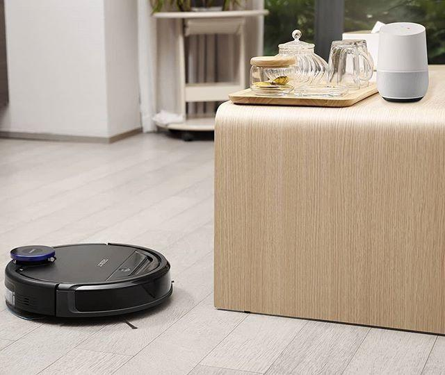 Amazon is having a one-day sale on Ecovacs robot vacuum. (Photo: Ecovacs)