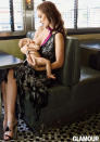 """<p>Actress Olivia Wilde revealed her love of breastfeeding her son Otis in <i>Glamour</i> magazine. The mum of one tweeted about the shoot, writing, """"Thanks @glamourmag for knowing there's nothing indecent about feeing a hungry baby."""" <i>[Glamour Magazine]</i> </p>"""