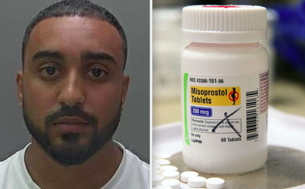 Robin Christy was jailed for three years in 2019 for supplying Misoprostol tablets that helped facilitate an illegal abortion attempt. (Police handout/PA)