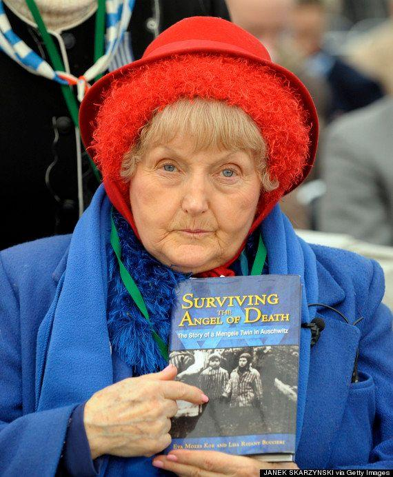 <strong>Eva speaks about her experience and has revisited Auschwitz</strong> (Photo: AFP/Getty Images)