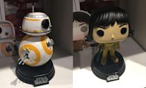 <p>BB-8 and Rose Funko Pops. (Yahoo Movies UK/Disney) </p>