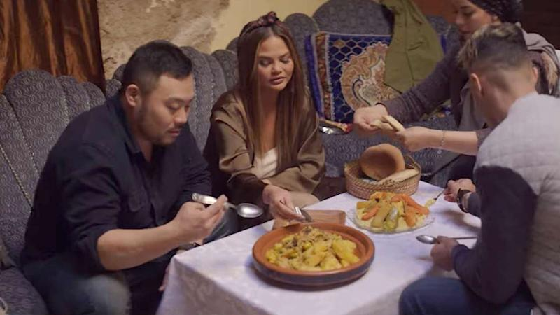 David Chang Travels the World With Chrissy Teigen, Seth Rogen & More in New Series 'Breakfast, Lunch & Dinner'