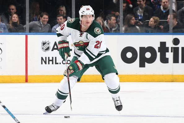 "<a class=""link rapid-noclick-resp"" href=""/nhl/players/3345/"" data-ylk=""slk:Ryan Suter"">Ryan Suter</a> of the <a class=""link rapid-noclick-resp"" href=""/nhl/teams/min/"" data-ylk=""slk:Minnesota Wild"">Minnesota Wild</a> skates with the puck against the <a class=""link rapid-noclick-resp"" href=""/nhl/teams/nyr/"" data-ylk=""slk:New York Rangers"">New York Rangers</a> at Madison Square Garden on December 23, 2016 in New York City. The Minnesota Wild won 7-4. (Getty Images)"