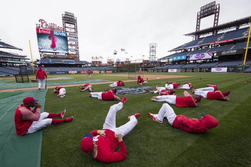 Phillies place 4 on injured list with no specific injury