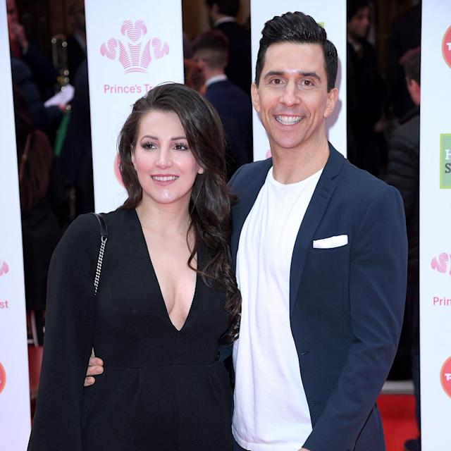 Russell Kane and his wife Lindsay are both big supporters of Prince Charles' charity