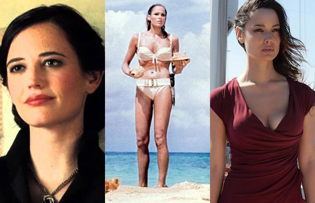 25 Sizzling Bond Girls, From Ursula Andress to Monica Belluci (Photos)