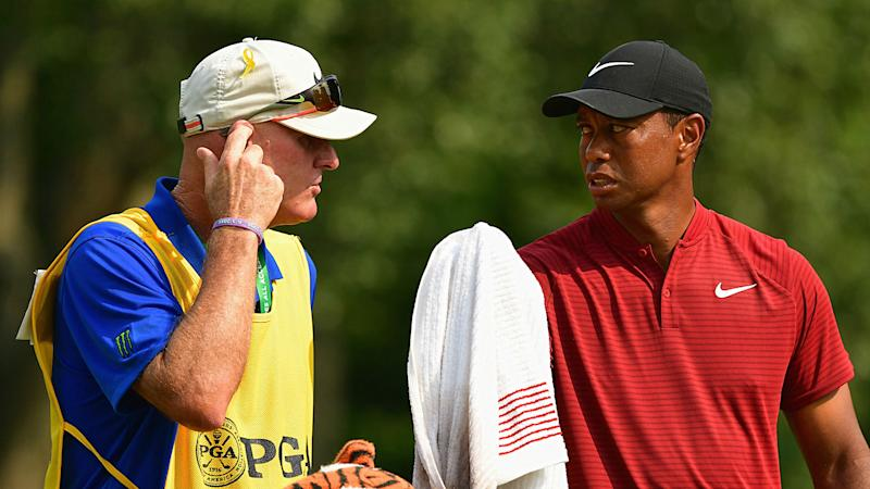 Tiger Woods' caddie tried paying a heckler to leave