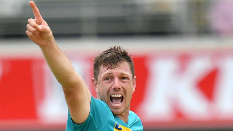 James Pattinson took five wickets for Brisbane Heat against the Adelaide Strikers in the BBL
