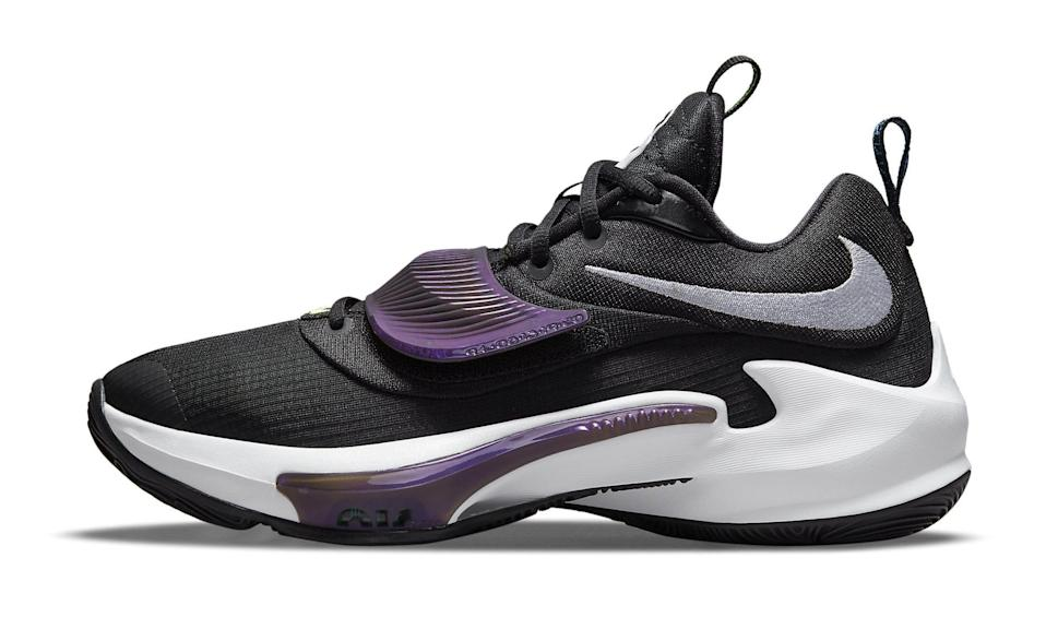 """The lateral side of the Nike Zoom Freak 3 """"Project 34."""" - Credit: Courtesy of Nike"""