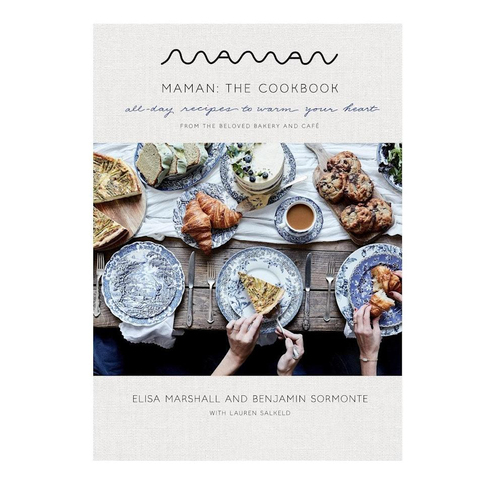 """Speaking of cookies, Maman (the boho chic New York City café whose chocolate chip cookie made it onto Oprah's 'Favorite Things' list) just launched a cookbook that's perfect for gifting your favorite chef-slash-hostess. $27, Amazon. <a href=""""https://www.amazon.com/Maman-Cookbook-All-Day-Recipes-Heart/dp/0593138953/"""" rel=""""nofollow noopener"""" target=""""_blank"""" data-ylk=""""slk:Get it now!"""" class=""""link rapid-noclick-resp"""">Get it now!</a>"""