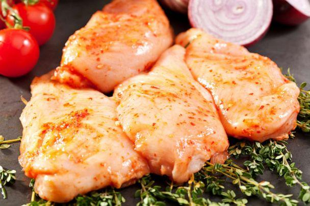PHOTO: Marinated chicken is pictured in this undated stock photo. (STOCK PHOTO/Getty Images/)