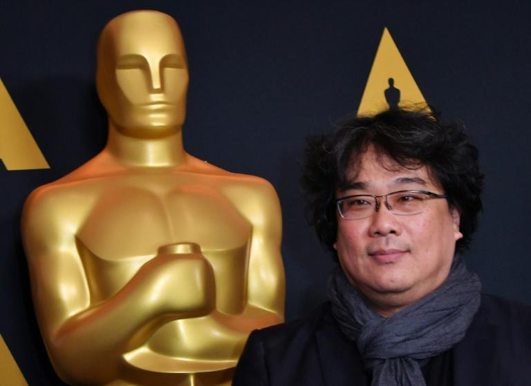 """South Korean filmmaker Bong Joon-ho, who directed """"Parasite,"""" could make history at the Oscars with any victories for his black comedy thriller"""