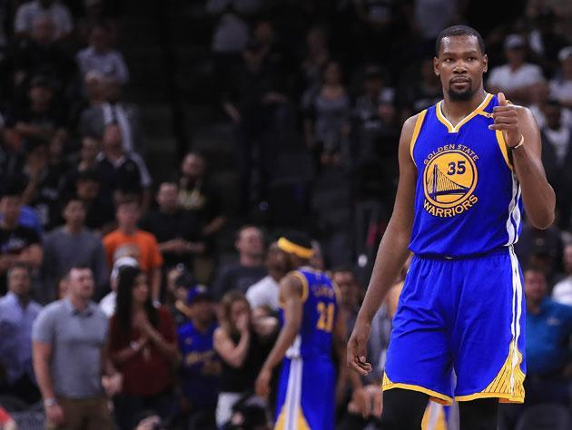 Kevin Durant is set to play in his second Finals. (Getty Images)