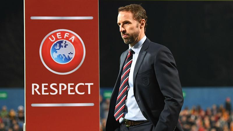Southgate calls for greater education following alleged racist chants in Montenegro