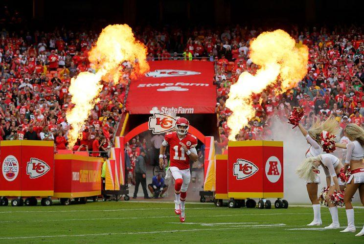 Alex Smith faces the friendliest possible schedule over the next six weeks. (Photo by Jamie Squire/Getty Images)