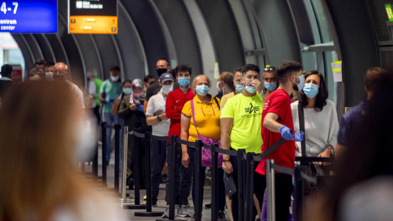 Record coronavirus spike in France and Germany as holidaymakers return