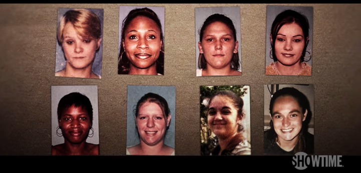 """Newly released records show a half-dozen women told authorities they were raped and trafficked to male inmates inside a rural Louisiana jail. The 2002 case is featured in a Showtime documentary, """"Murder in the Bayou"""" examines the unsolved killings of eight women known as the Jeff Davis 8. Source: ShowTime / YouTube"""