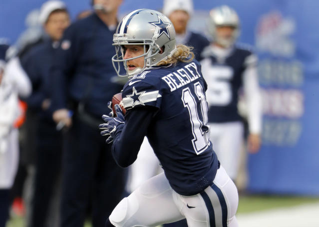 "Dallas Cowboys wide receiver Cole Beasley released his debut rap album, ""The Autobiography"" on Saturday. (AP)"