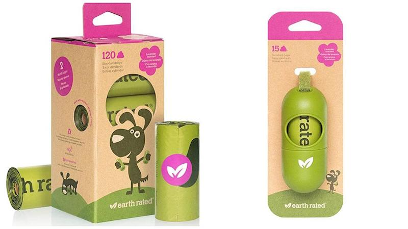 Earth Rated poop bag dispenser and refill rolls | Vanillapup