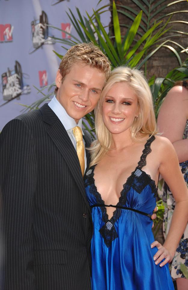 Heidi Montag surgery: By the time series three of The Hills began, Heidi was living with new boyfriend Spencer Pratt, and had gone under the knife. Heidi had a nose job and a breast enhancement. Copyright [Rex]