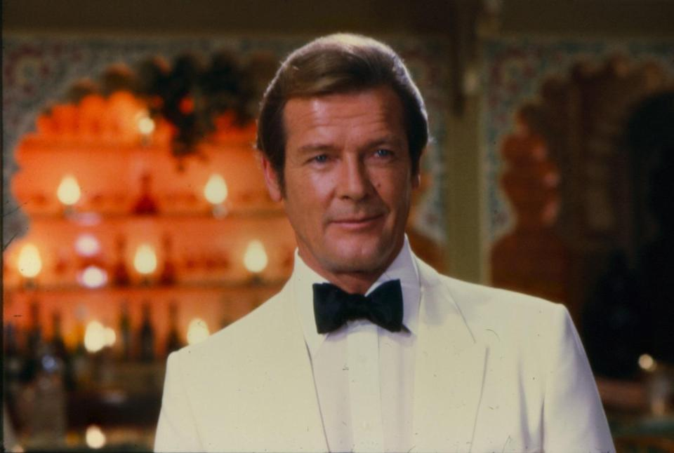 <p>Roger Moore, 14 October 1927 – 23 May 2017<br>Best known for: James Bond, The Saint </p>