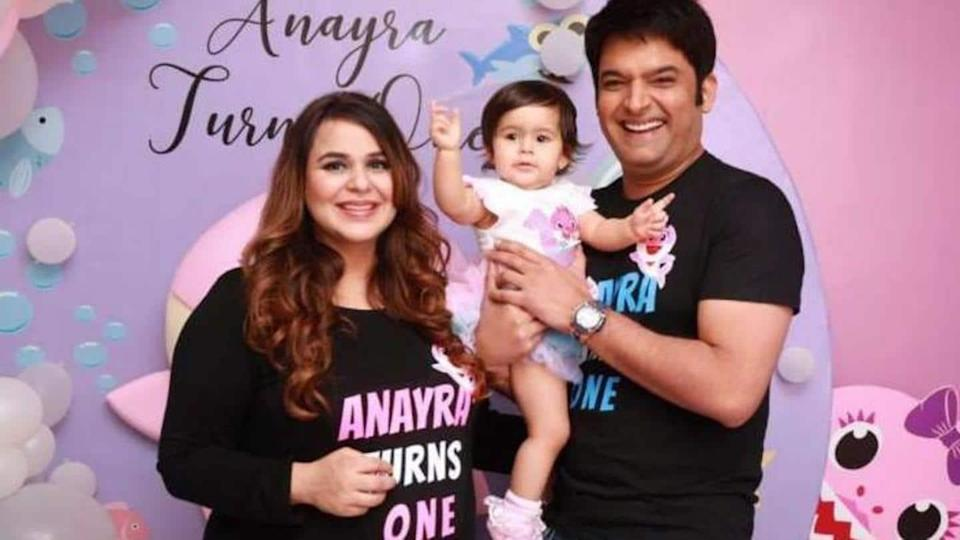 Kapil Sharma confirms wife Ginni is expecting second baby