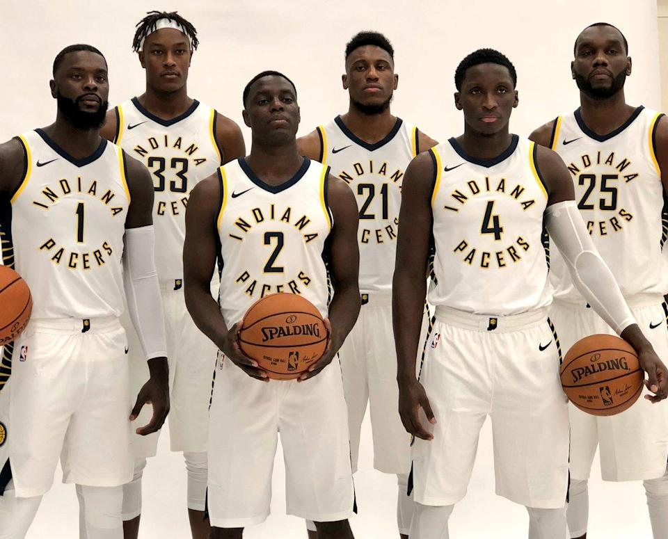 These or your 2017-18 Indiana Pacers, for better or, more likely, worse. (AP)