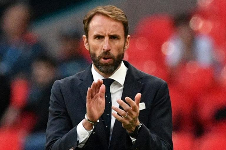 England manager Gareth Southgate was the fall guy when the Three Lions lost on penalties to Germany at Euro 96