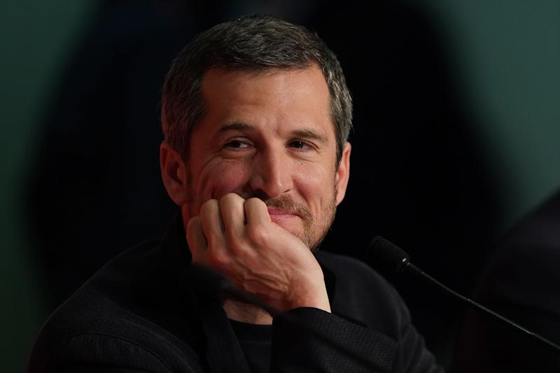 """French actor Guillaume Canet attends a press conference for the film """"La Belle Epoque"""" at the 72nd edition of the Cannes Film Festival in Cannes, southern France, on May 21, 2019. (Photo by Sébastien BERDA / AFP) (Photo by SEBASTIEN BERDA/AFP via Getty Images)"""