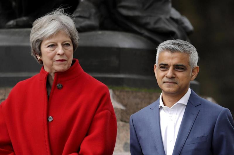 Change: both Theresa May and Sadiq Khan have rowed back on ceasing stop and search (Photo by Dan Kitwood/Getty Images) (Getty Images)