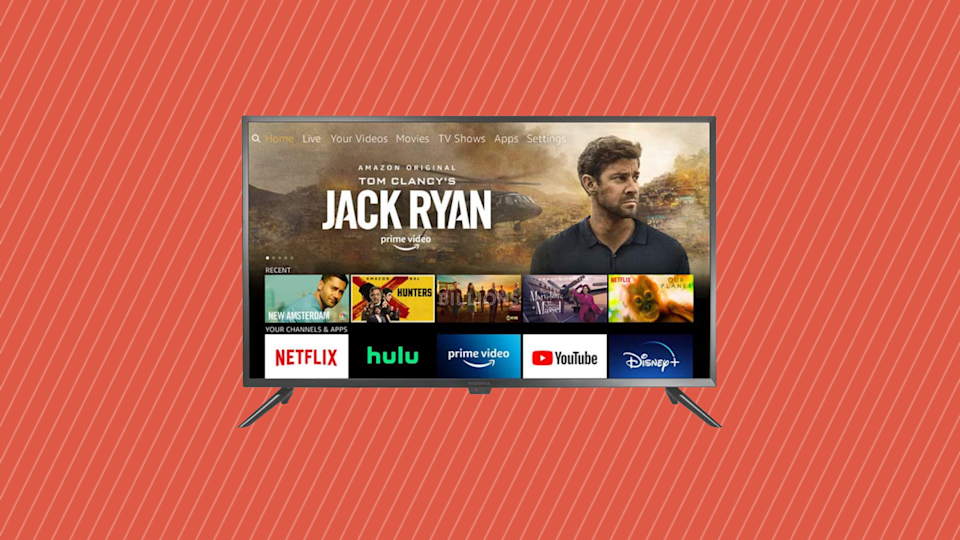 Save 40 percent on this Insignia 24-inch Smart HD TV—Fire TV Edition. (Photo: Amazon)