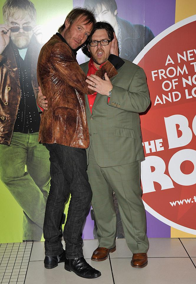 "<a href=""http://movies.yahoo.com/movie/contributor/1800018838"">Rhys Ifans</a> and <a href=""http://movies.yahoo.com/movie/contributor/1807585578"">Nick Frost</a> at the London premiere of <a href=""http://movies.yahoo.com/movie/1809998397/info"">The Boat That Rocked</a> - 03/23/2009"