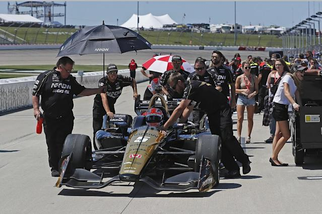 Hinchcliffe: Win doesn't end Indy bumping talk